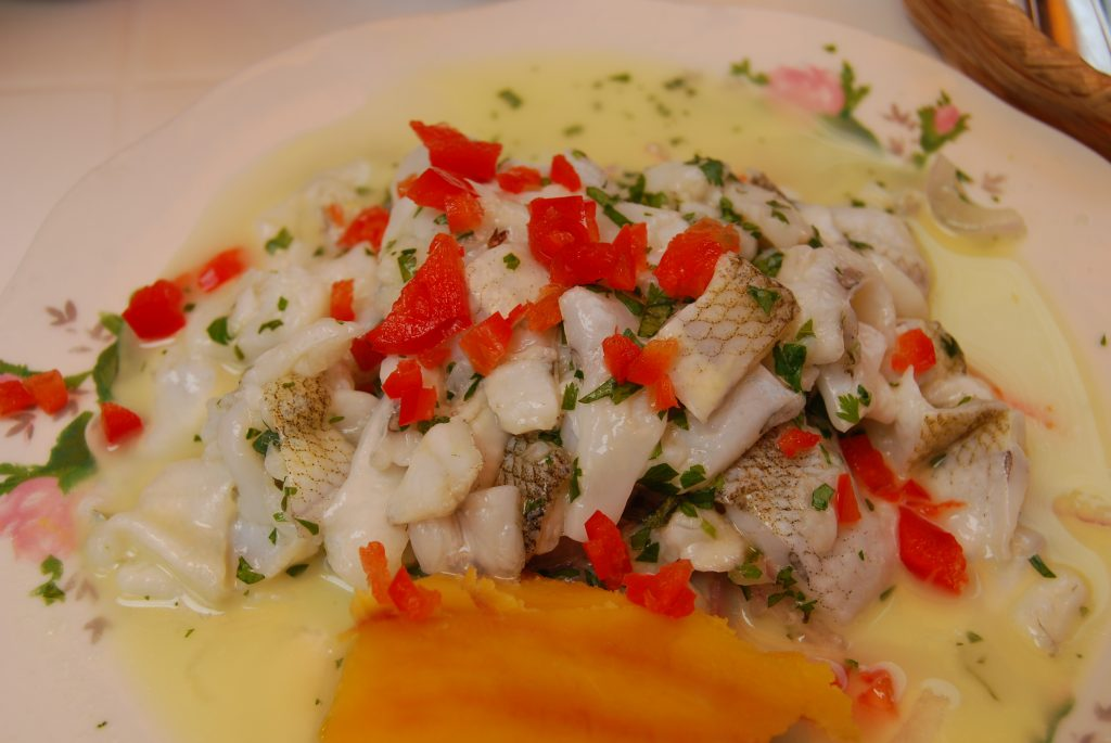 Ceviche from Rio Mar, Cuzco