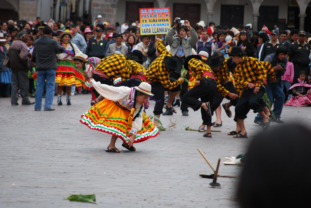 Working the Corn, Cuzco, March 28, 2010