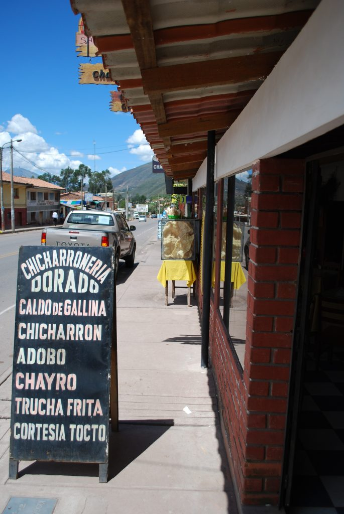 Saylla, Cuzco's Capital of Chicharron