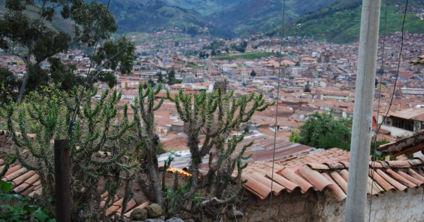 Thorns above Cuzco