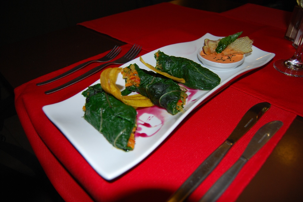 Spring Rolls with Andean Hot Sauce