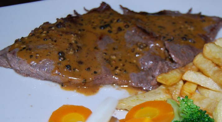 Alpaca Loin with Gravy