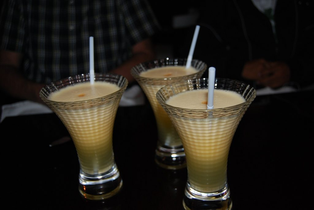Maracuya Sours Made with Pisco