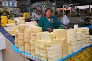 Cheese Vendor, Ttio Market