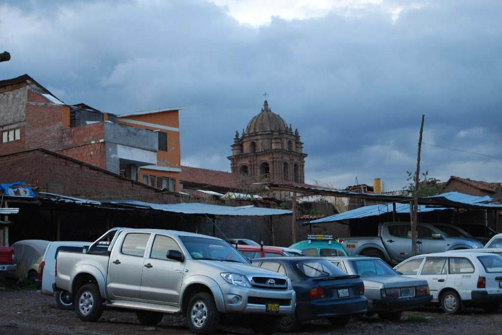 Rain Clouds over Cuzco