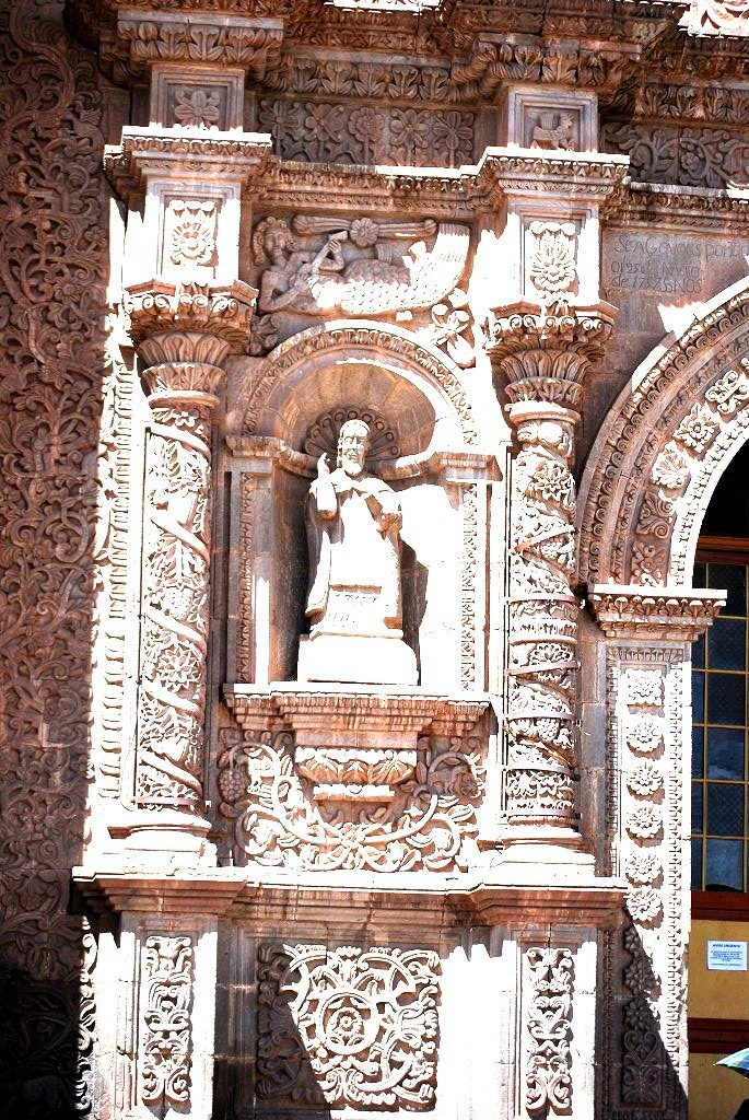 Sirena with Charango, Facade Puno Cathedral