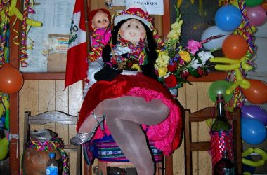 Doll Representing a Comadre as a Social Type