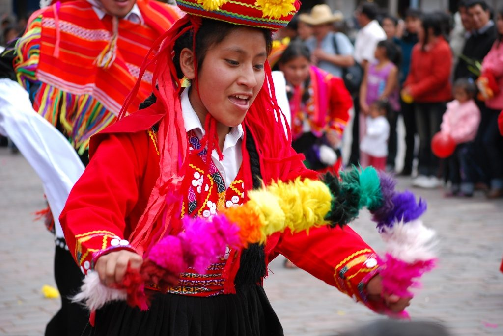 Dancing in Cuzco