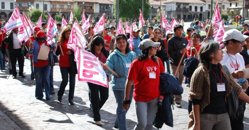Cuzco's Women March