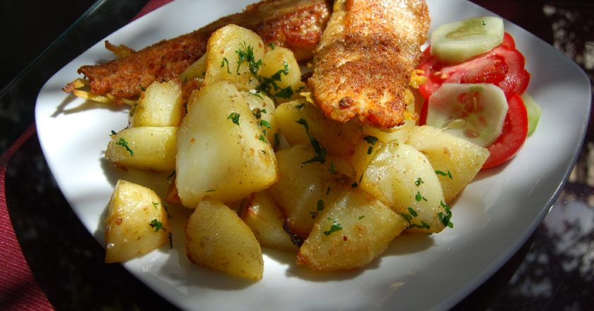 Trout with Potatoes