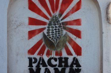 Graffiti of Pacahamama