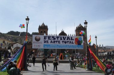 Total Art Festival at the Plaza de Armas
