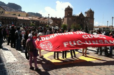 Demonstration against State of Siege in Espinar