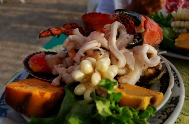 Fresh Ceviche with Shell Fish