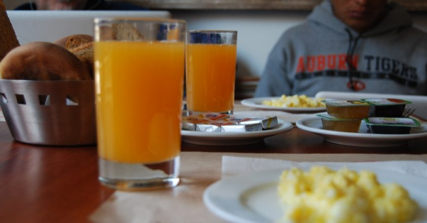 Orange Juice and Breakfast