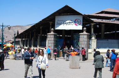 Entrance to San Pedro Market