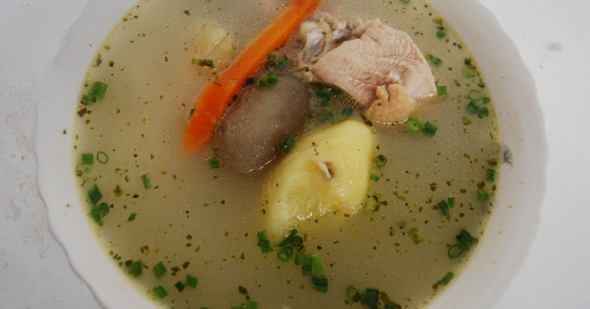 Cuzco's Chicken Soup