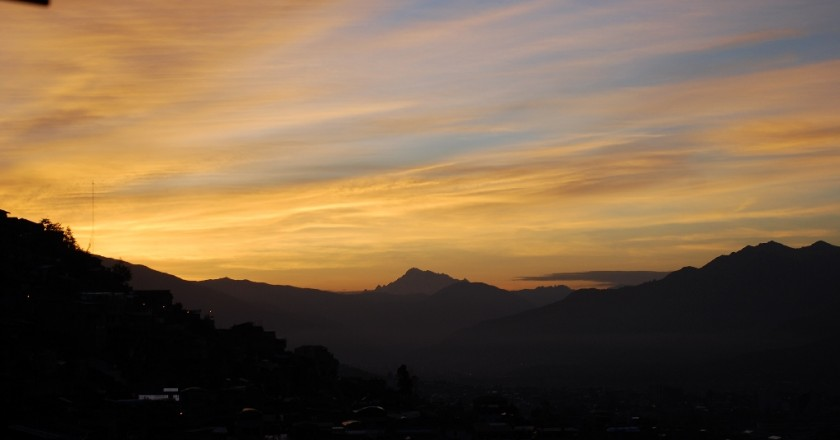 Sunrise in Cuzco