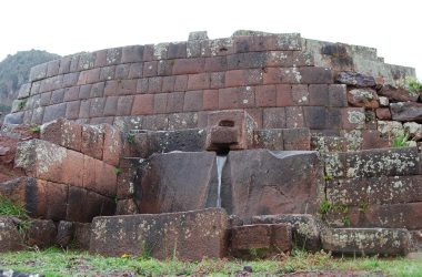 Fountain in the Archeological Site of Pisac