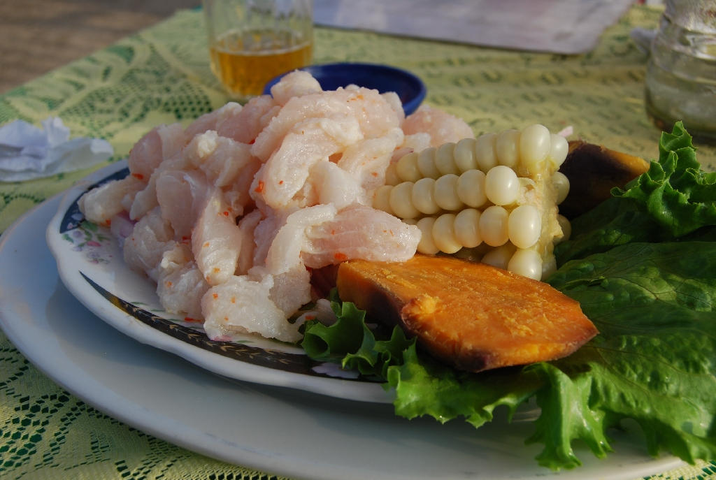 Classic Peruvian Ceviche on the Coast