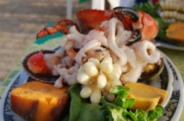 Ceviche Mixto in Chorrillos