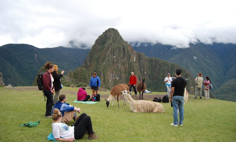 Tourists at Machu Picchu (Walter Coraza Morveli)