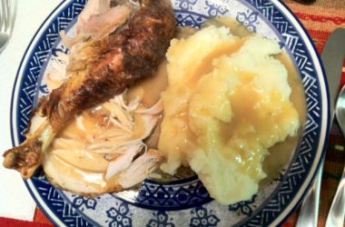 Pavo al Horno with Mashed Potatoes