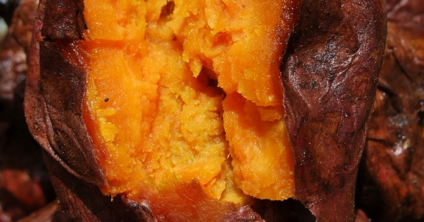 Baked Sweet Potato Ready to Eat