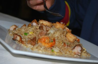 Fried Rice (Arroz Chaufa) with Shrimp