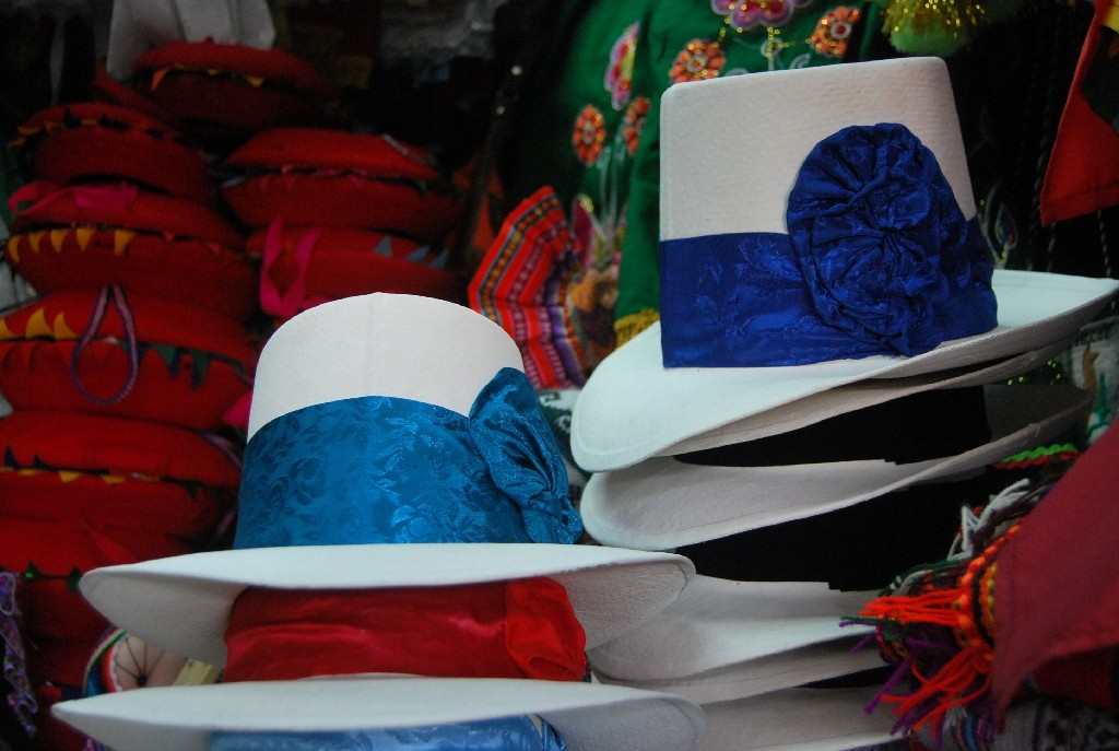 Hats for Traditional Cuzco Women