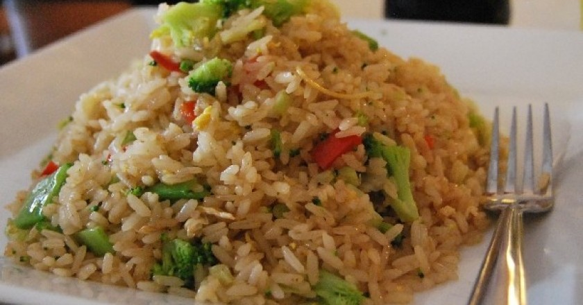 Arroz Chaufa (Fried Rice) with Vegetables