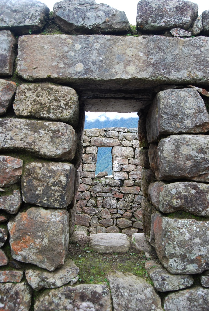 Windows in Machu PIcchu