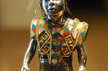 Silver Statued of the Inca