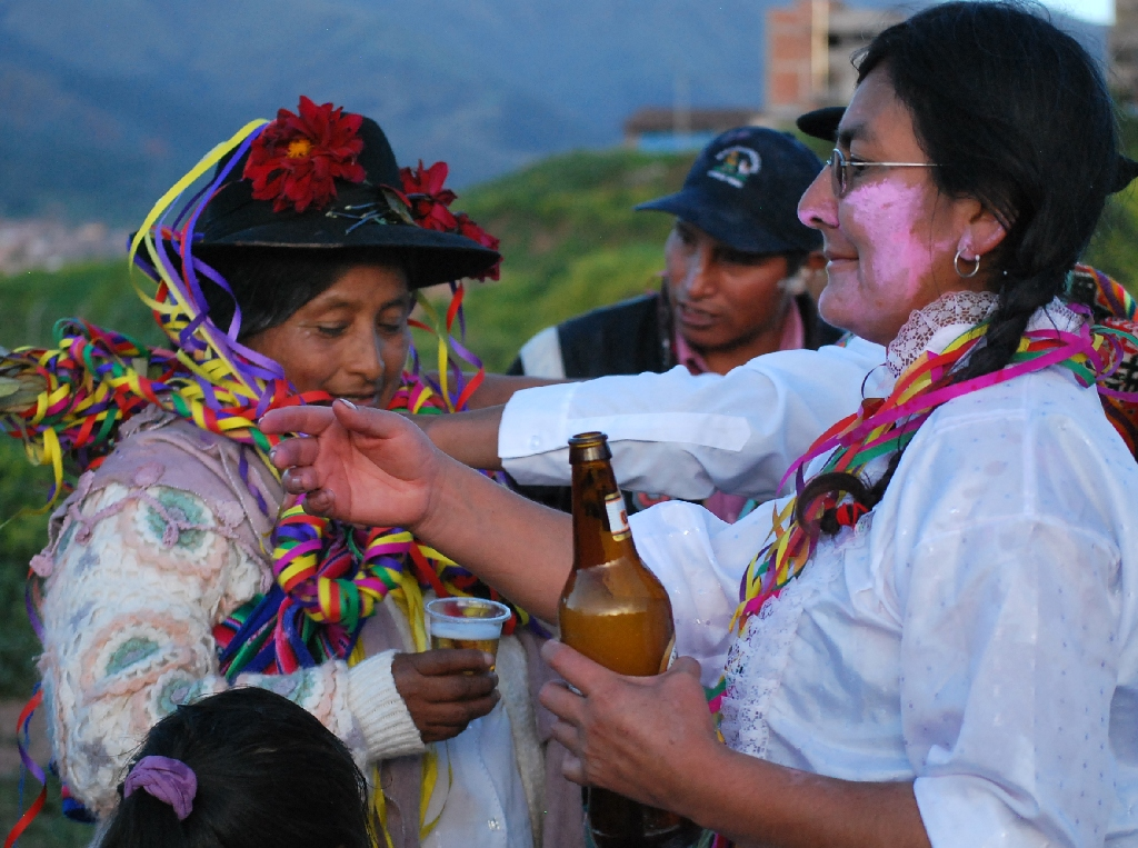 Passing on the Task of Sponsoring Carnival with Beer