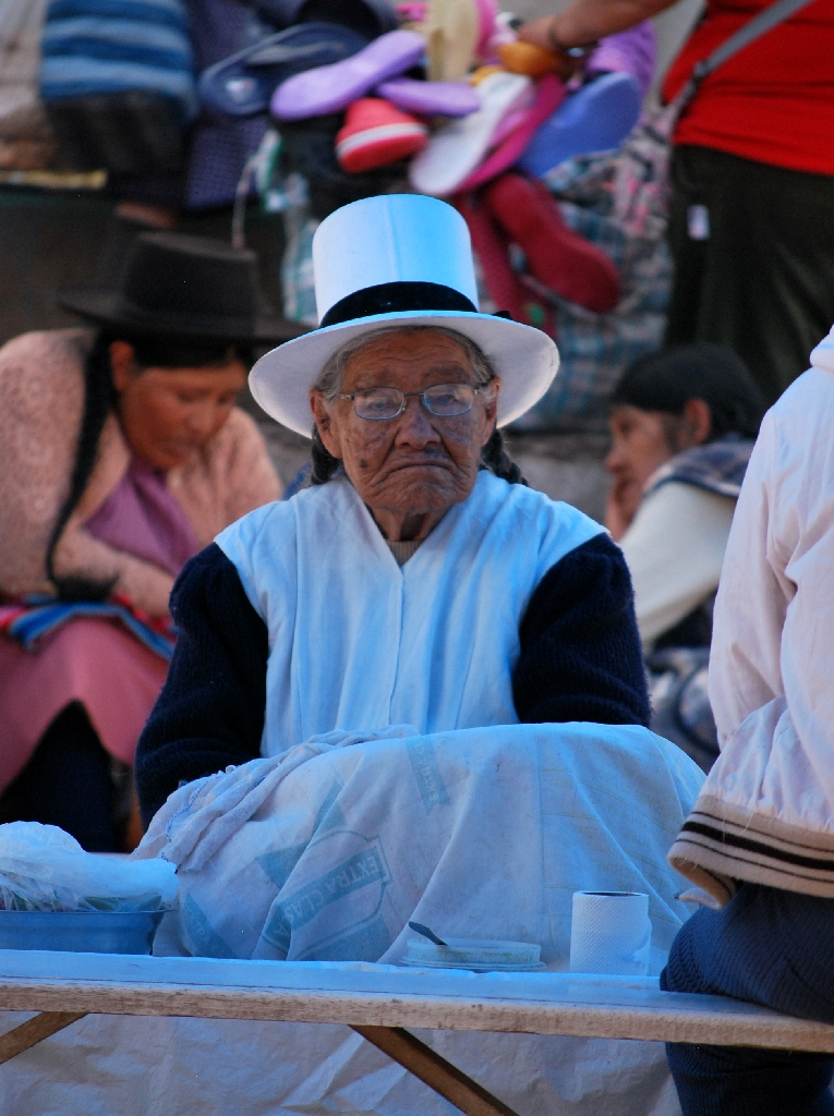 A Traditional Cuzco Grandmother