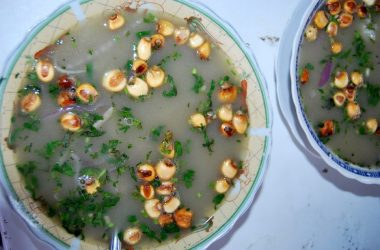 Chilcano with Corn and Herbs