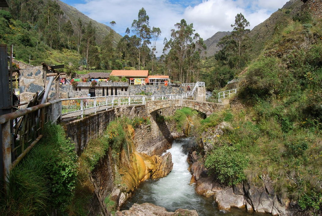 The Entrance to the Hot Springs of Lares