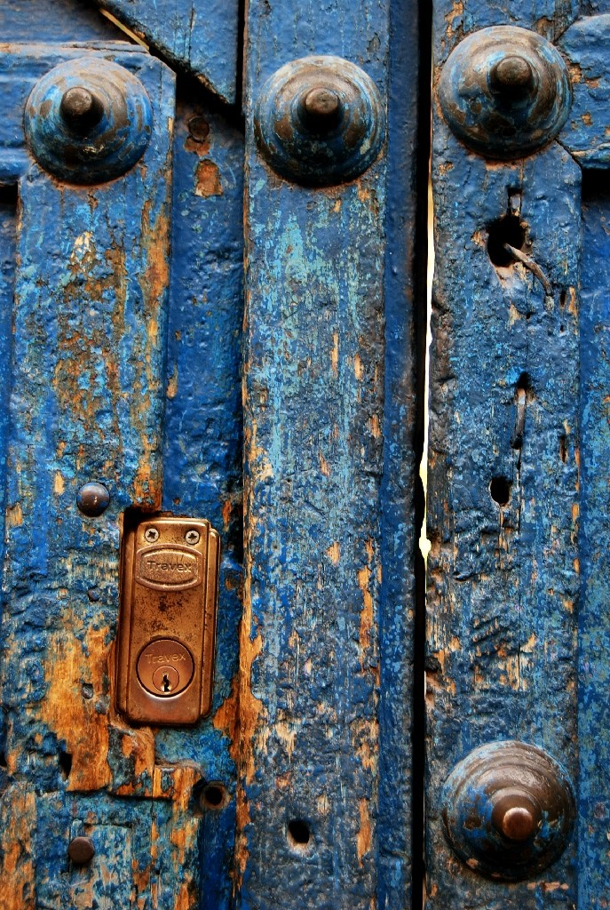 An Old Colonial Door