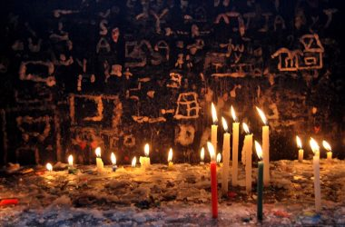 Requests (Prayers) in Wax on the Walls of the Chapel of Candles, Huanca