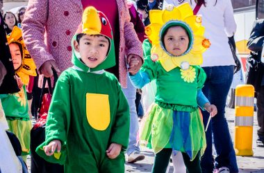 Flora and fauna represented by the children of Cuzco (Photo: Alonzo Riley)