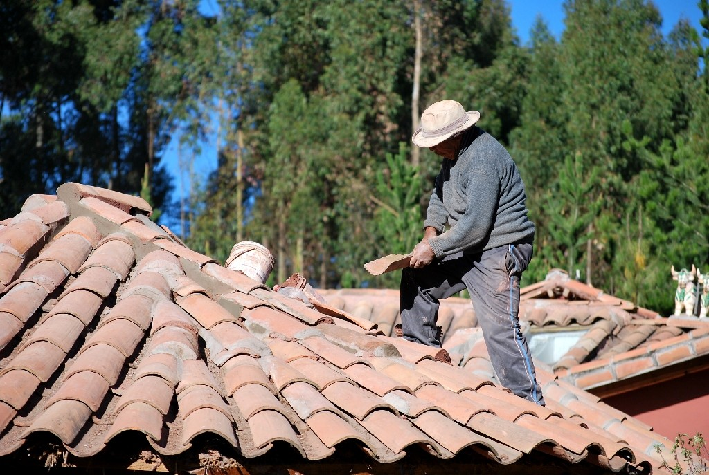 Finishing a Roof