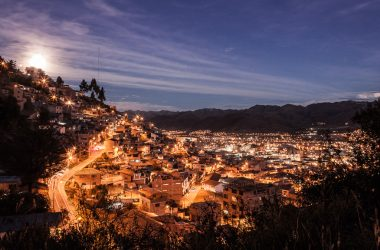 Cuzco as the Full Moon Rises (Photo: Alonzo Riley)