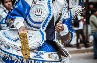 Dancing the Morenada in Cusco (Photo: Alonzo Riley)