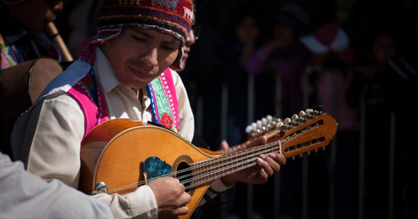 Celebrating the Fiestas of Cuzco (Photo: Wayra)