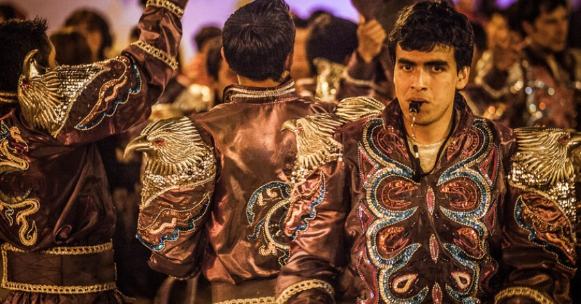 Dancers of Caporal in Cuzco