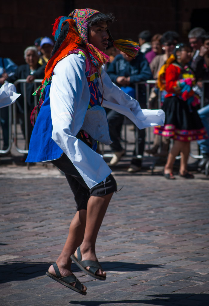 Dancing in Cuzco Today
