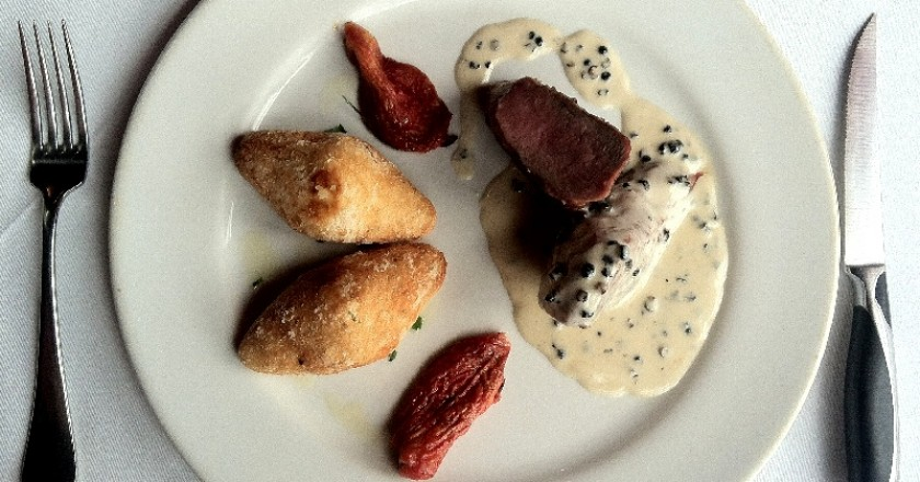 Alpaca Loin in Olluco Sauce (Photo: Wayra)