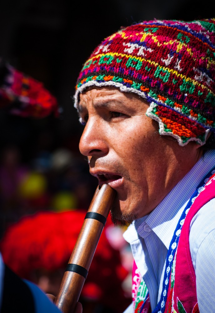 The Expression of Quechua in the Wind's Sound (Photo: Wayra)