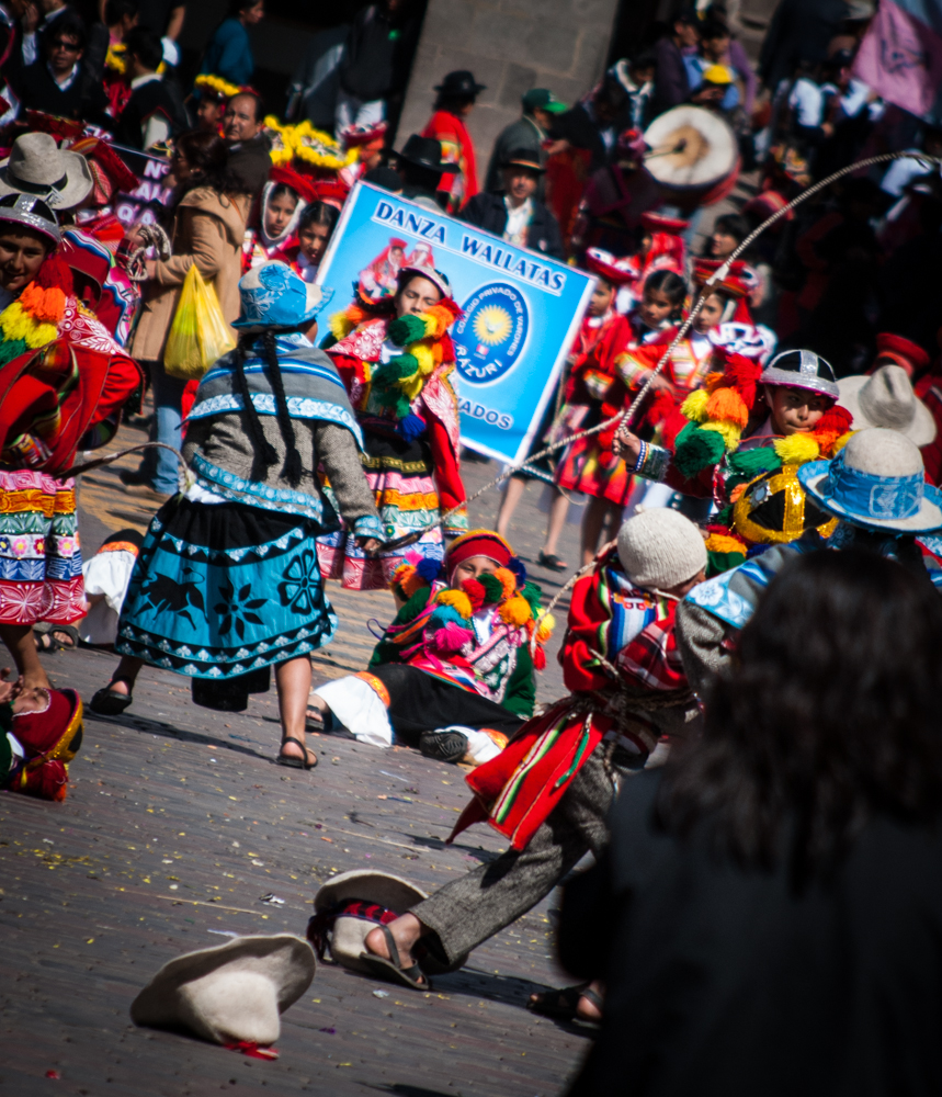 Celebration in Cuzco (Photo: Wayra)