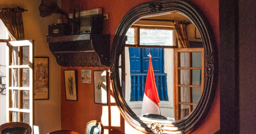 Patriotism through the MIrror (Photo: Clark)